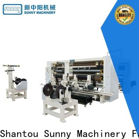 Sunny slitting rewinding machine gantry wholesale bulk production