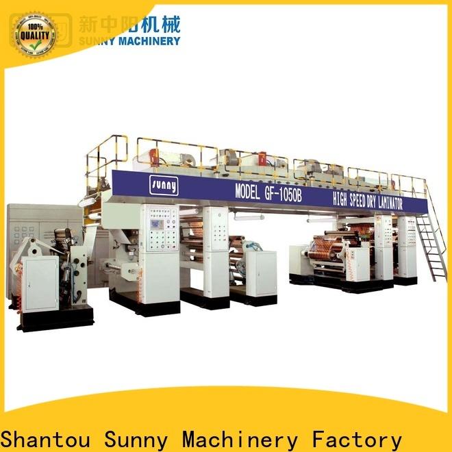 Sunny machine extruder lamination machine supplier for factory