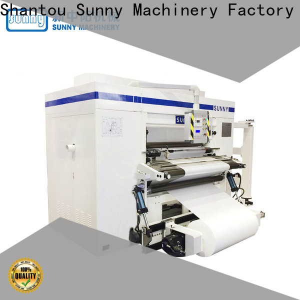 jumbo rewinder slitter machine film supplier for production