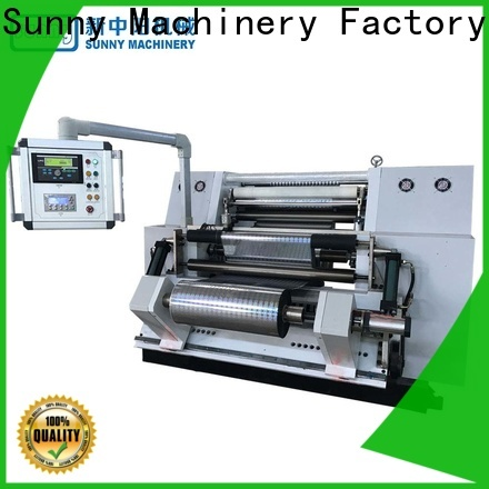 thermal rewinder slitter machine high speed wholesale for production