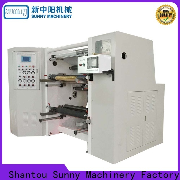 Sunny low cost slitting machines supplier for production