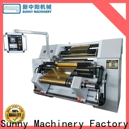 Sunny quality slitter rewinder wholesale bulk production
