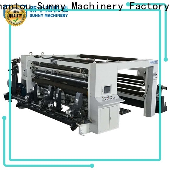 jumbo rewind slitting machines high speed manufacturer for production