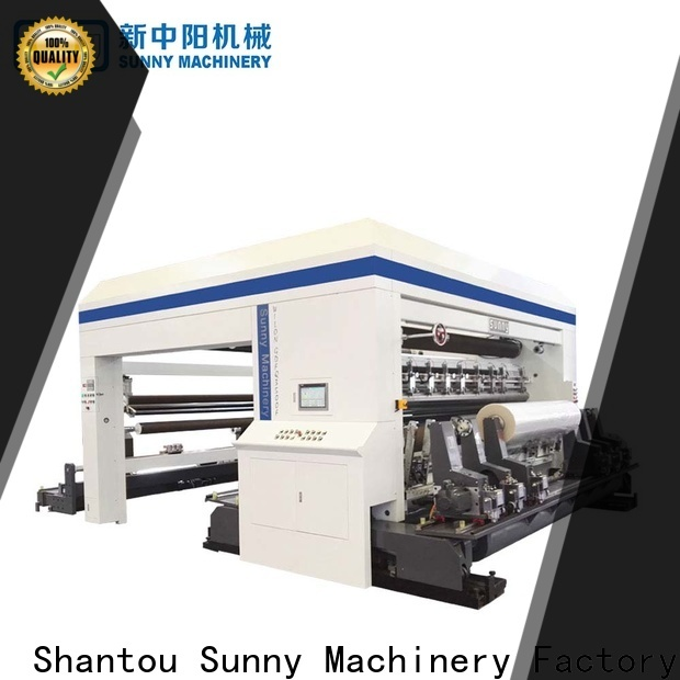 horizontal rewinder slitter gantry manufacturer at discount