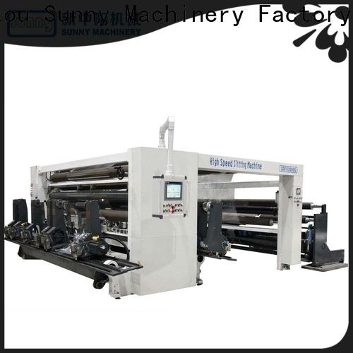 digital slitting rewinding machine gantry manufacturer for factory