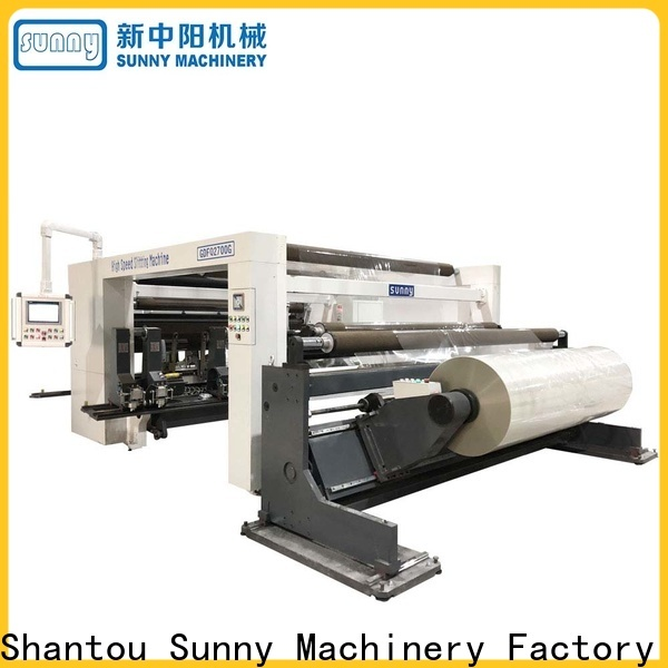 Sunny jumbo slitting and rewinding machine customized at discount