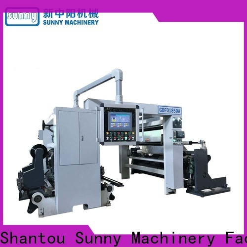 Sunny Sunny rewinder slitter machine wholesale for sale