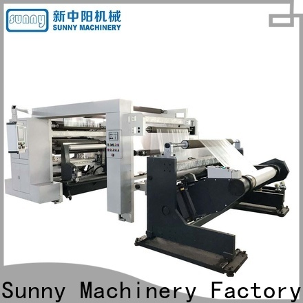 Sunny speed rewinding machinery manufacturer for factory
