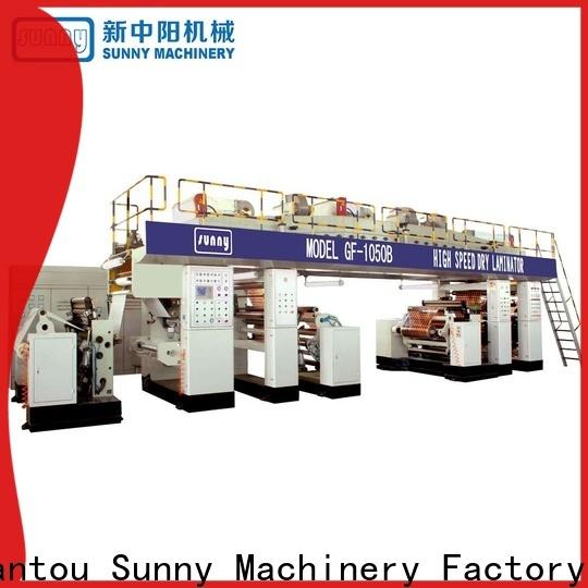 Sunny drying extrusion lamination machine customized for laminating