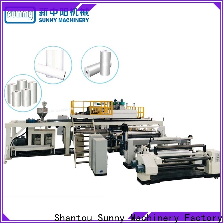 Sunny dual extrusion lamination plant manufacturer for factory