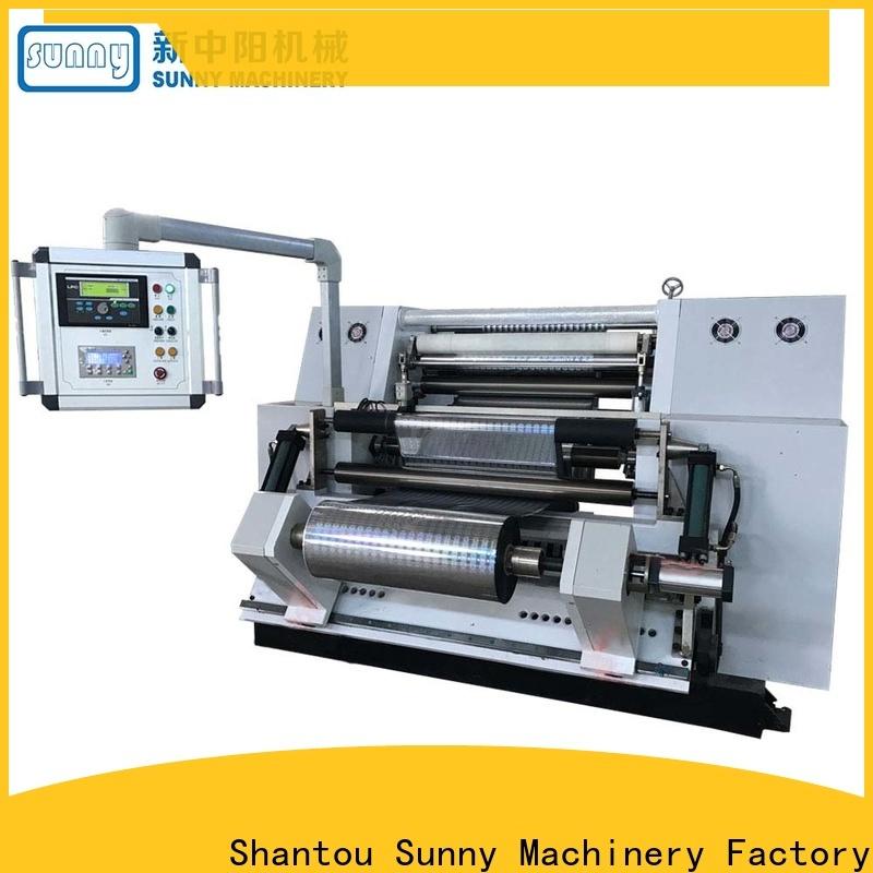 Sunny roll slitting rewinding machine manufacturer bulk production