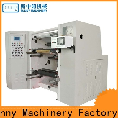 Sunny high speed slitter rewinder machine customized for factory