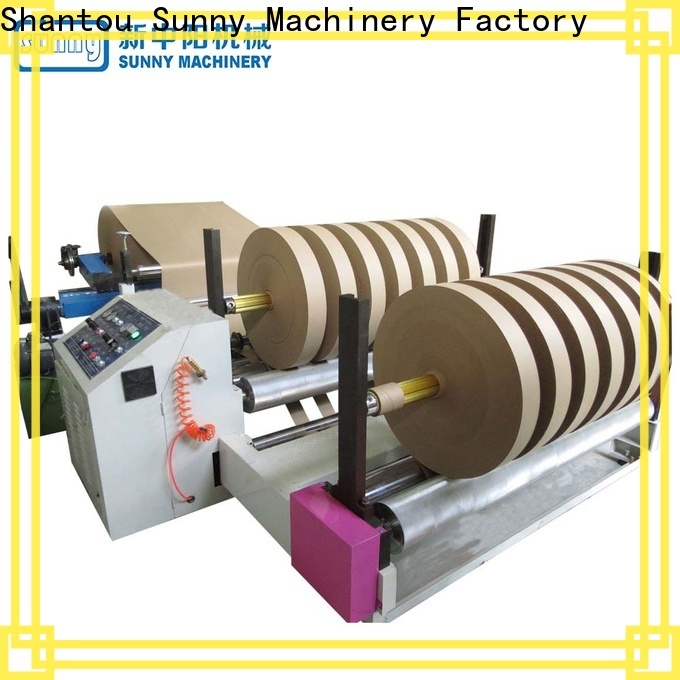 Sunny roll slitter rewinder machine customized for factory