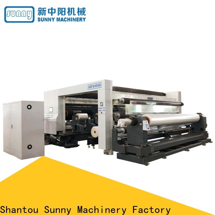 Sunny stations slitting machines wholesale for production