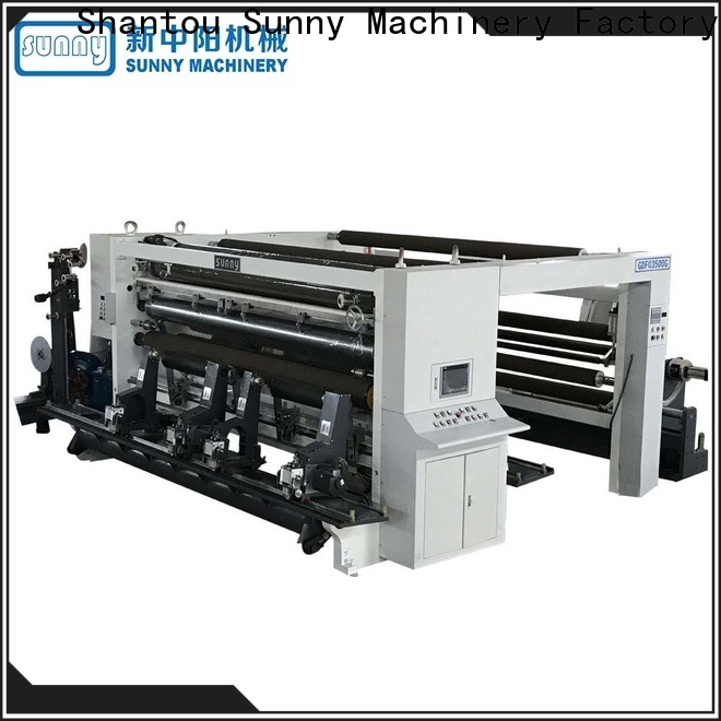horizontal rewinder slitter roll manufacturer for factory
