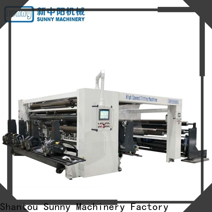 Sunny horizontal slitting machines wholesale for factory