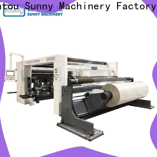 low cost rewinding machinery line customized bulk production