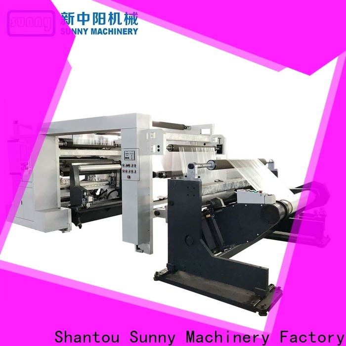 Sunny Sunny rewind slitting machines customized for factory