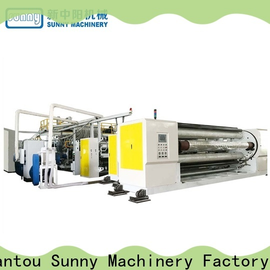 Sunny film cast film machine customized for industry