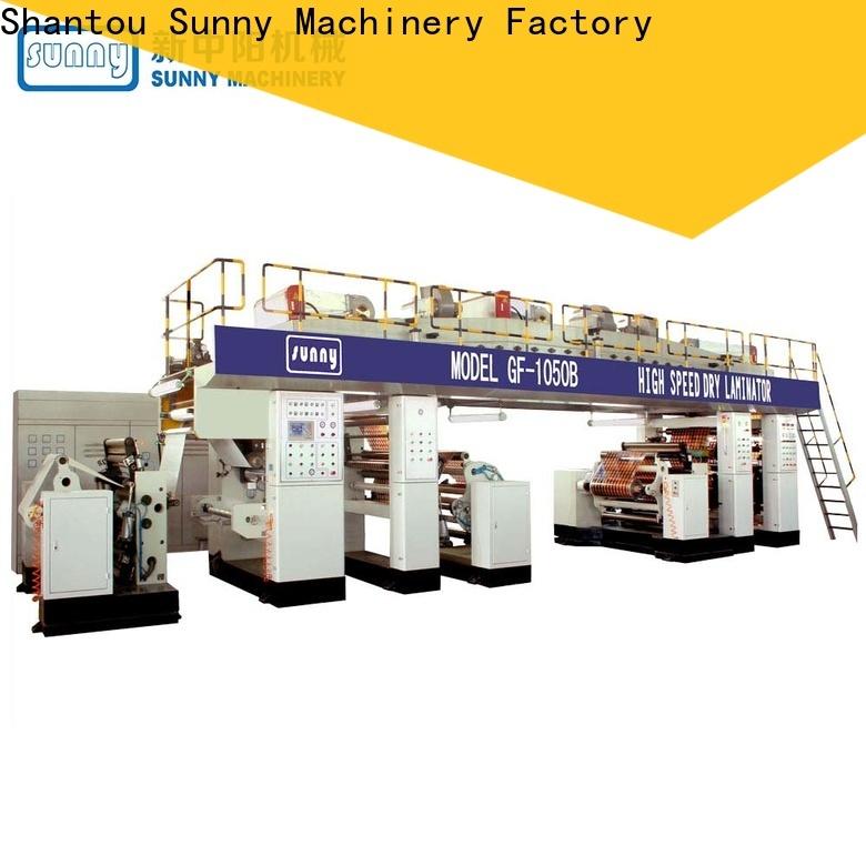 Sunny rewind extruder lamination machine manufacturer for laminating