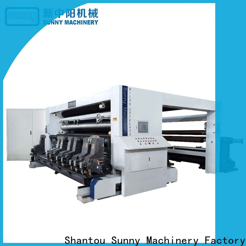 Sunny high speed slitting machines customized for sale
