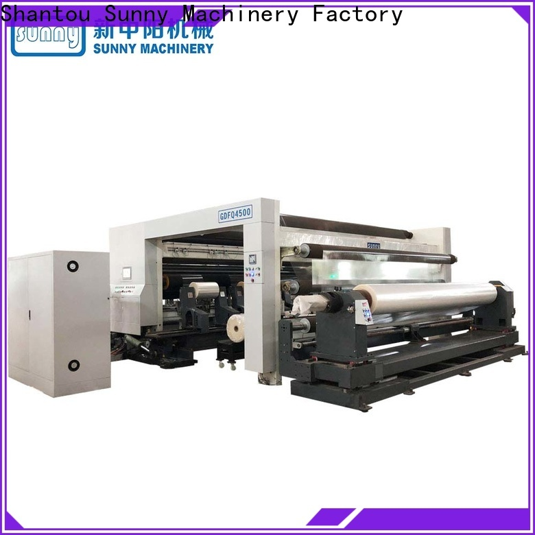 horizontal rewind slitting machines gantry supplier for factory