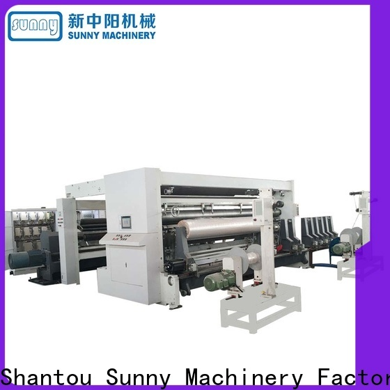Sunny roll rewind slitting machines customized for factory