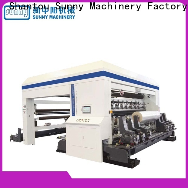 Sunny low cost rewind slitting machines customized for factory