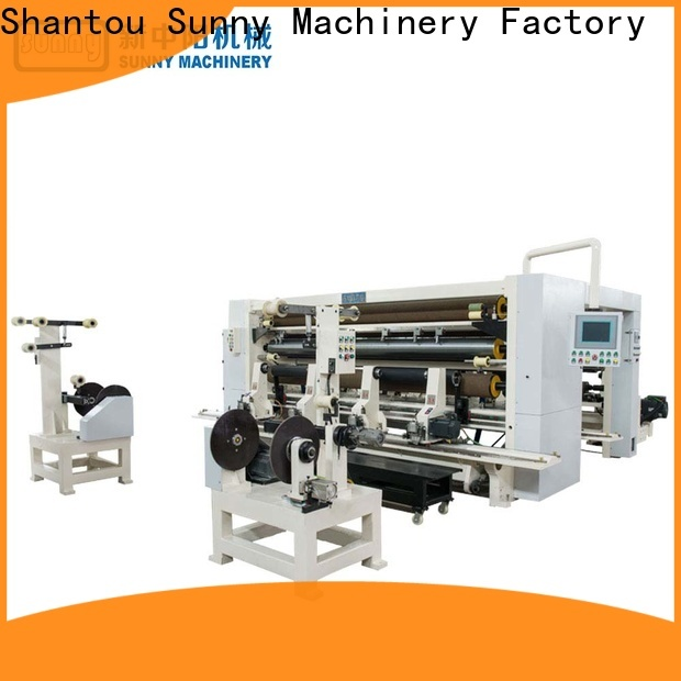 Sunny high speed rewinding machinery wholesale for production