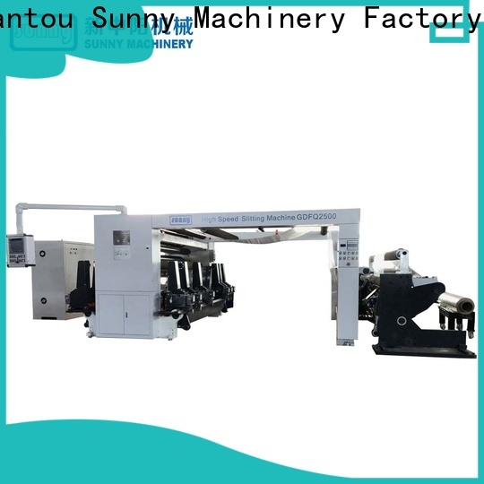 Sunny film slitting machines supplier for factory