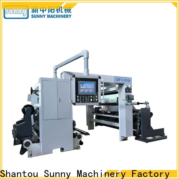 Sunny jumbo slitting machines supplier for factory