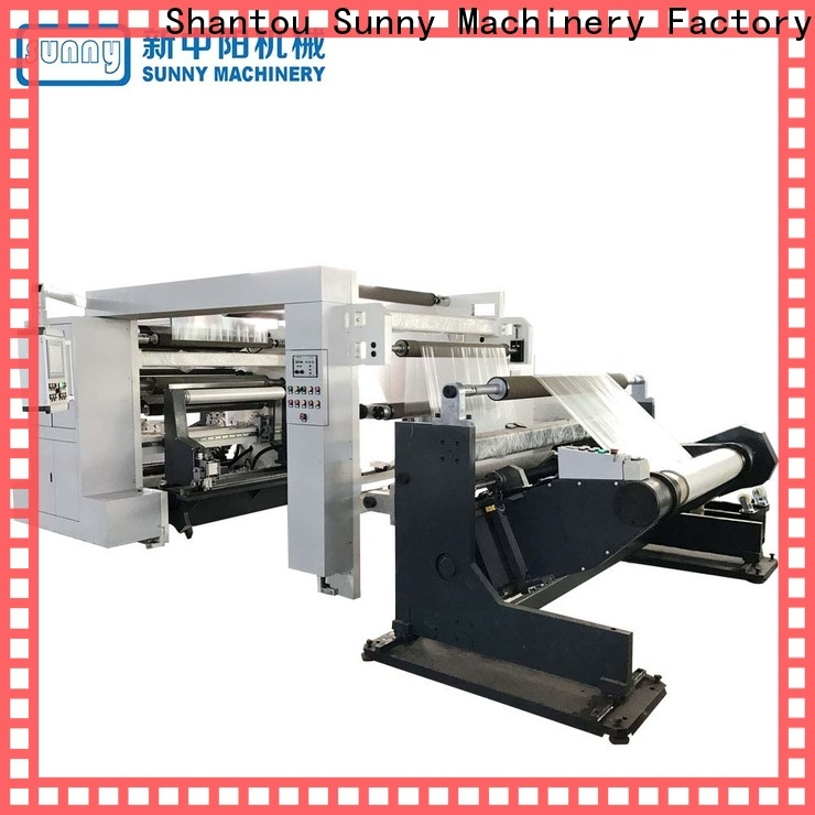 Sunny thermal rewind slitting machines wholesale for production