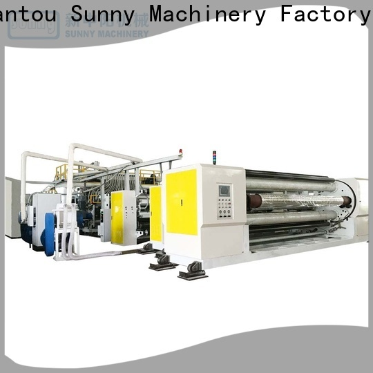 Sunny embossing film casting machine customized for industry