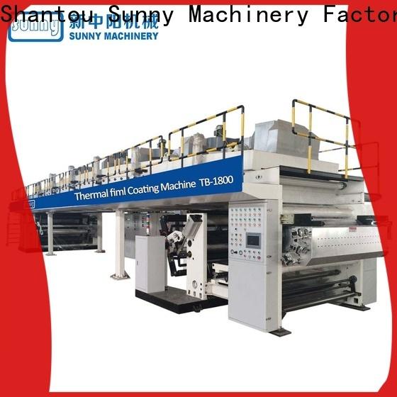 Sunny tdie lamination coating machine customized for protection film