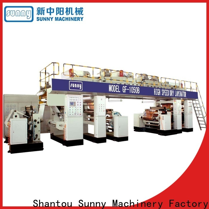 single extrusion coating machine single supplier for packaging