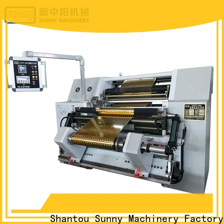 Sunny slitting and rewinding machine quality manufacturer for factory