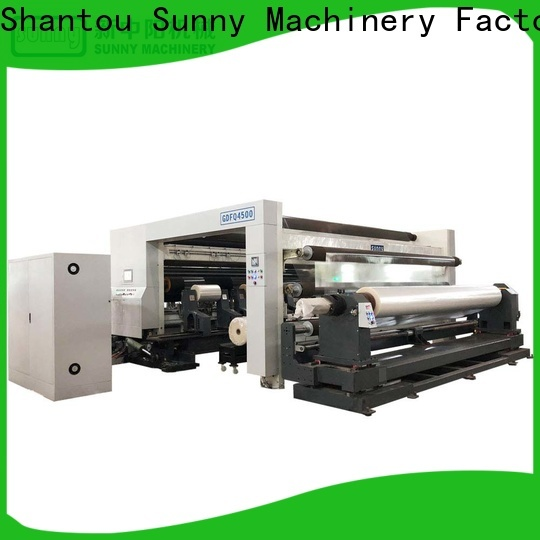Sunny film slitting rewinding machine manufacturer bulk production