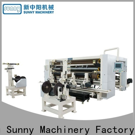 Sunny low cost slitting and rewinding machine supplier for sale