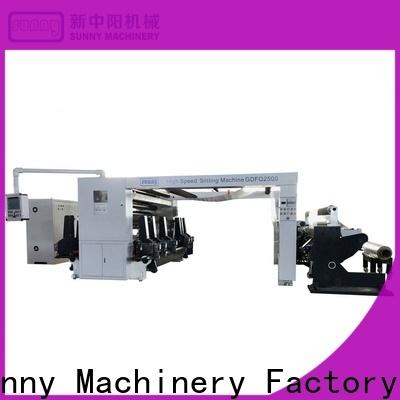 Sunny high quality rewinder slitter manufacturer for factory
