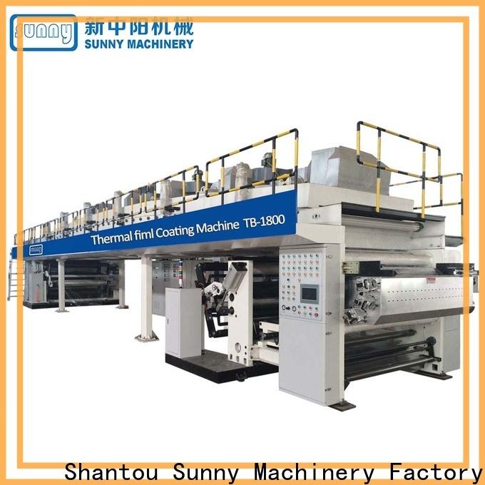 Sunny unwind dry laminating machine wholesale for protection film