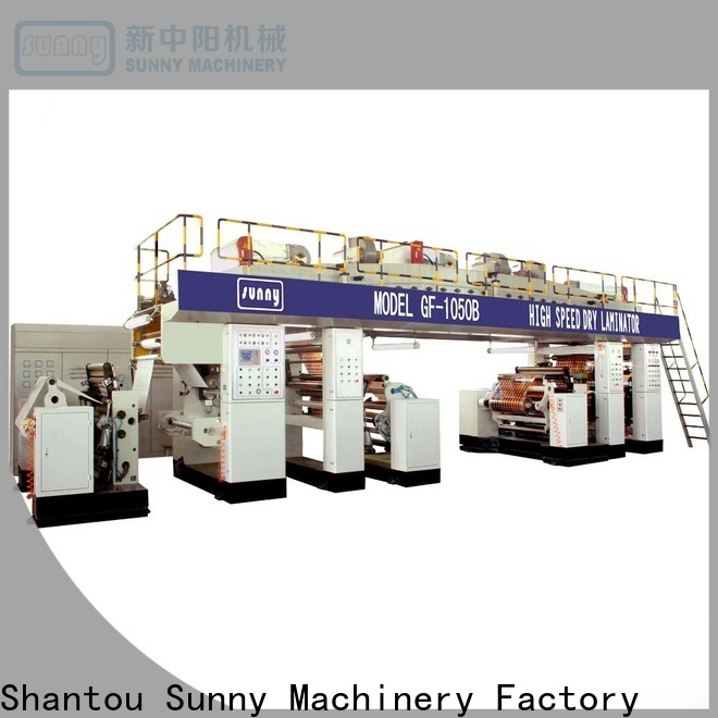 Sunny printing extrusion coating lamination machine manufacturer for factory