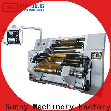 jumbo slitter rewinder machine high speed supplier at discount