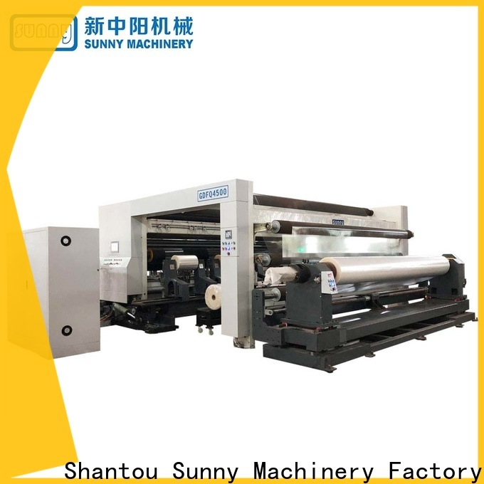 Sunny Sunny rewinding machinery manufacturer for production