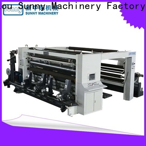 Sunny model slitting and rewinding machine manufacturer for production