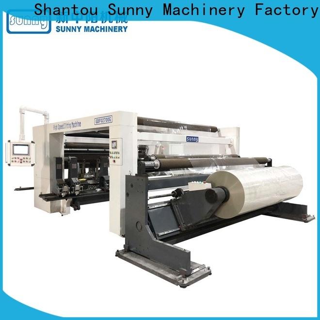 Sunny digital rewind slitting machines wholesale bulk production