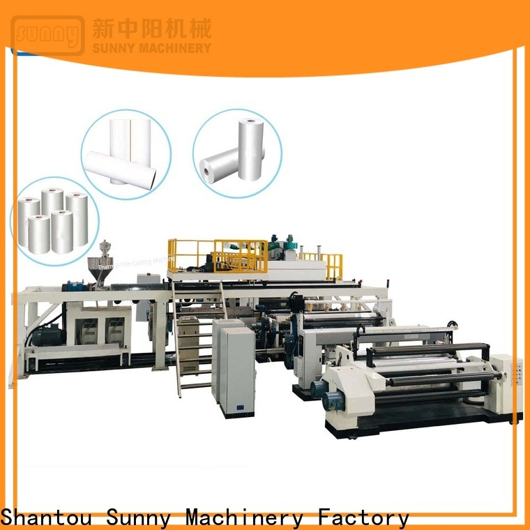 Sunny printing extrusion coating machine manufacturer for packaging