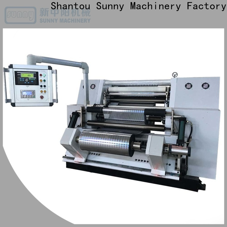 Sunny gantry rewinder slitter machine wholesale for production