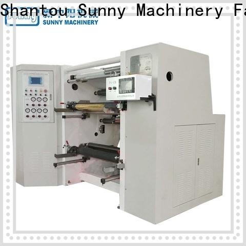 Sunny low cost slitting rewinding machine supplier bulk production