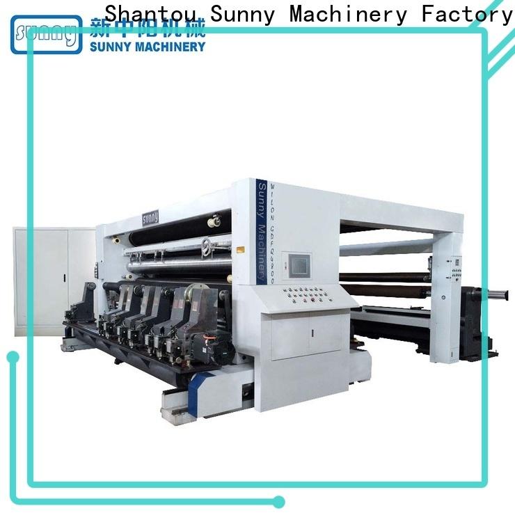 thermal slitter rewinder stations manufacturer for production