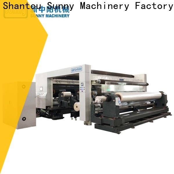 Sunny high speed rewinder slitter machine wholesale at discount